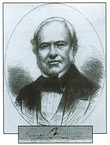 Portrait of George Bowman