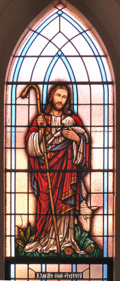 Stained Glass Window - the Good Shepherd