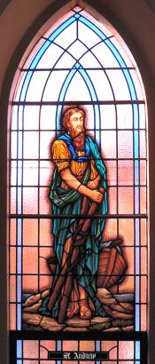 Stained Glass Window - St Andrew